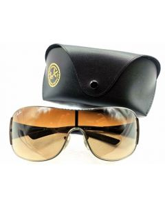 SUNGLASSES-WRAP/BRN TINT