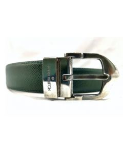 BELT-BLK/SILVER BUCKLE