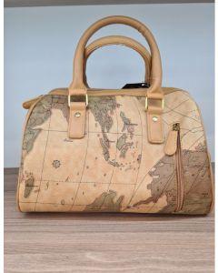 TOTE BAG-BROWN/MAP