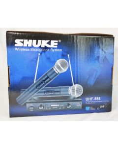 SHUKE WIRELESS MICROPHONE SYSTEM