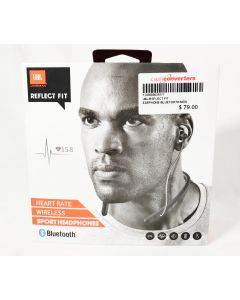 JBL Reflect Fit Heart Rate Wireless Headphones Black