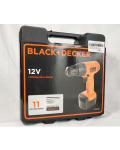 Black & Decker CD121K-XD 12V Cordless Drill Driver