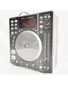 Denon DJ Mixer DN-S1200 Compact Portable DJ CD/MP3 Player and Controller with USB MIXER