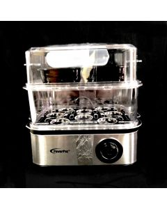 POWERPAC STEAMER-2TIER/2.5L/500W/OX
