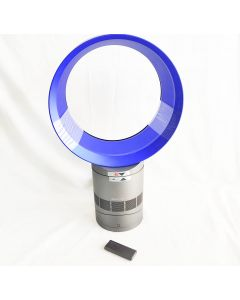 Dyson Air Multiplier AM06 Table Fan, 10 Inches, Iron/Blue