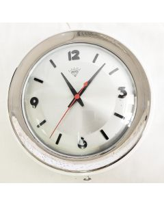 DIAMOND WALL CLOCK VINTAGE COLLECTABLE