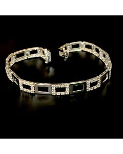 18KWG Diamond Bracelet