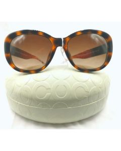SUNGLASSES-CATS EYE/BRN FRAME/BRN TINT