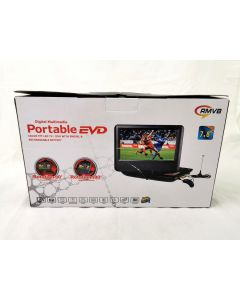 PORTABLE DVD PLAYER WITH TV FUNCTION - 7.8 INCH (NEW)