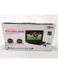 PORTABLE DVD PLAYER WITH TV FUNCTION - 9.8 INCH (NEW)