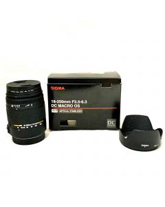 SIGMA LENS-CANON MOUNT/18-250MM/F3.5-6.3