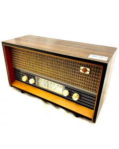 RADIO-DISPLAY ONLY/VINTAGE/LARGE/BRN