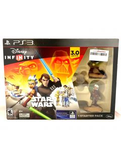DISNEY INFINITY STAR WARS GAME DISC-PS3/FIGURINES