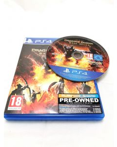 PS4 GAME DISC - DRAGON'S DOMA