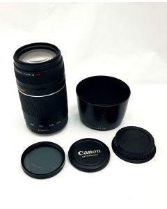LENS-CAM/75-300MM/BLK