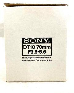 SONY LENS 18-70MM F3.5-5.6