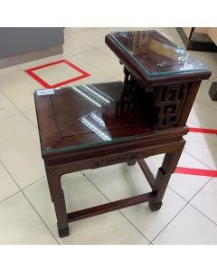WOODEN TELEPHONE TABLE
