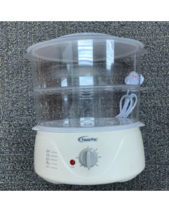 PowerPac 2 Tier Intelligent Electric Food Steamer 800 watts(PPE707)