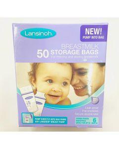 New 50pcs Breastmilk Storage Bags