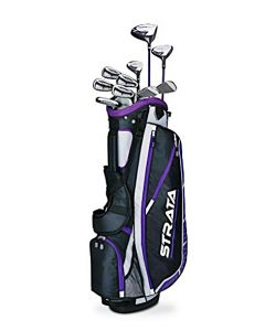 Callaway Women's Strata Plus Complete Golf Set (14-Piece Set)
