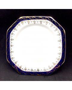 Bleu De Roi side plate D-15cm alfred meakin england 4pcs