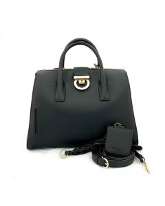 SALVATORE FERRAGAMO Lock Tote leather bag