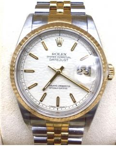 Rolex 16233 Datejust Half Gold C series
