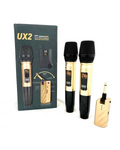 UX2 WIRELESS MICROPHONE ( 2 PCS )