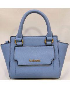 SHOULDER BAG-CHOUETTE/PALE BLUE