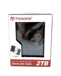 Transcend 2.5 StoreJet 25H3 USB 3.0 Portable Hard Drive