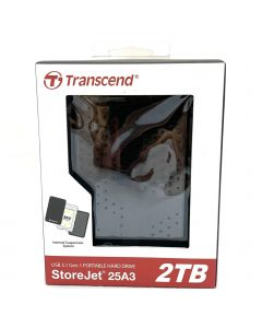 Transcend Portable Hard Drive 2TB