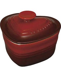 Le Creuset - Ramequin d 'Amour with lid - Red
