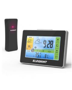 ELEGIANT EOX-9908 Color Wireless Weather Station