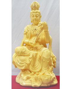 SHOWCASE-GUAN YIN HOLDING RUYI/LRG