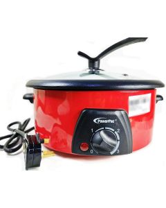 Powerpac Steamboat With 2 Compartments 1300W 3.5L PPMC708