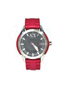 Mens Armani Exchange Watch AX1227 in Red Strap