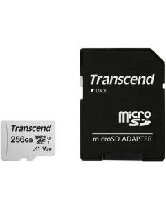 256GB TRANSCEND UHS-I MICRO SD WITH ADAPTER (UP TO 95MB/S)
