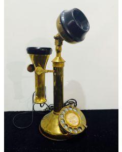 CANDLESTICK TELEPHONE (BRASS)