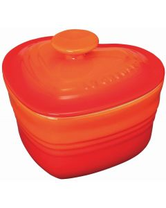 Le Creuset - Ramequin d 'Amour with lid - Orange