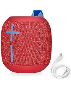 Ultimate Ears WONDERBOOM Super Portable Waterproof Bluetooth Speaker Fireball Red