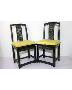 Pair of Oriental Antique Side Chair