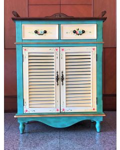 Elmwood Hutch Cabinet