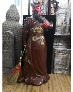 """48"""" CLAY GUAN GONG STAND DISPLAY"""