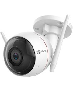 EZVIZ Outdoor 1080p Security Camera Surveillance Strobe Light & Siren IP66 Weatherproof 100ft Night Vision 2.4G Wi-Fi/Wired Two-Way