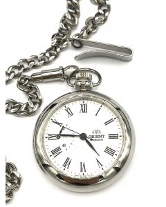 ORIENT POCKET WATCH WITH CHAIN