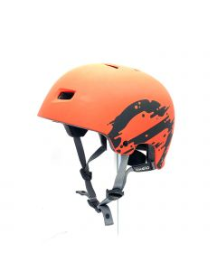 OXELO HELMET-SPORTS/ORANGE
