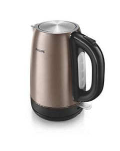 Philips HD9355/92 Viva Collection Kettle with Micro-mesh filter, 1.7L 2200W Copper metal, Spring lid