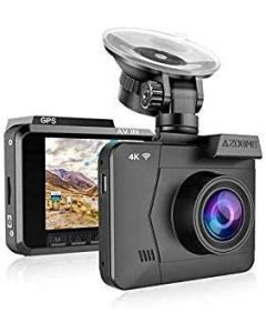 AZDOME M06 4K WIFI DASH CAMERA WITH GPS GEO-TAGGING SUPPORT