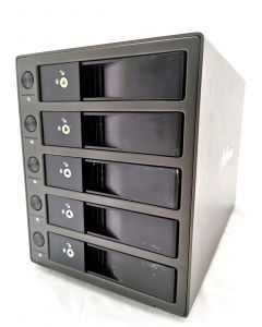 """5 BAY 3.5"""" SATA HDD EXTERNAL ENCLOSURE"""