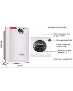 TANK LESS  HOT WATER HEATER -